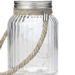 jarra de cristal luminosa de diseño