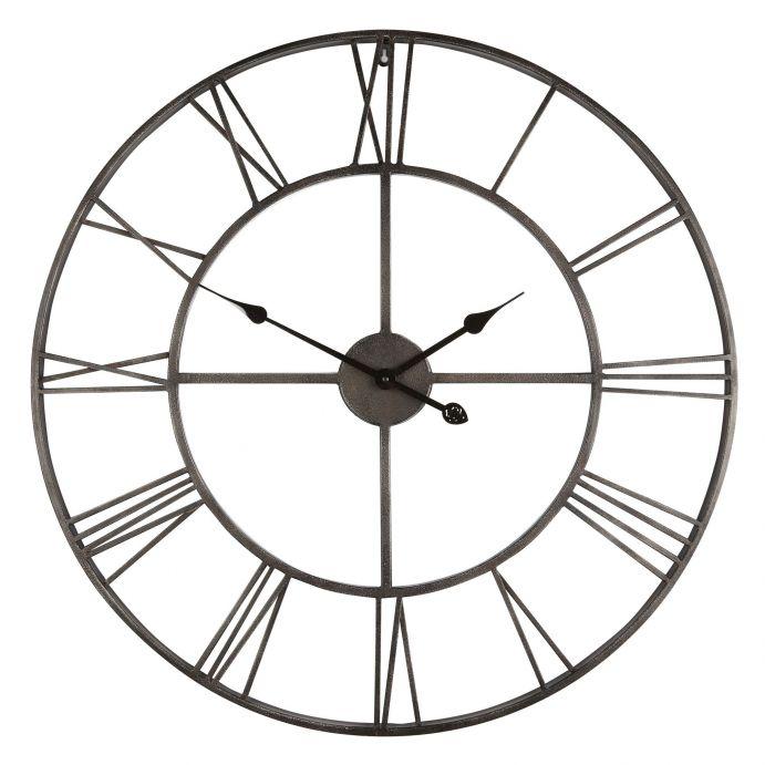 gran reloj de pared envejecido