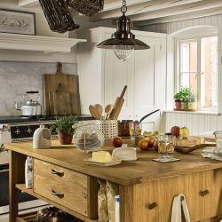 pincel y raspador de madera para cocina de diseño