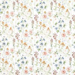 papel pintado de flores multicolor de diseño