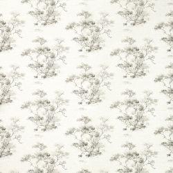 papel pintado de flores de diseño elegante en gris