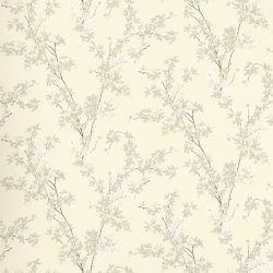 papel pintado de flores de diseño natural