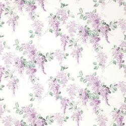 papel pintado de flores moradas de diseño romántico