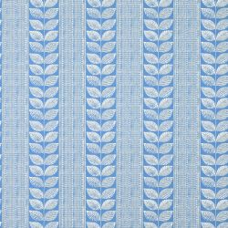 papel pintado de hojas azules de diseño retro vintage