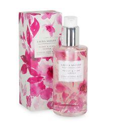 jabón de manos de peonías y pimienta rosa