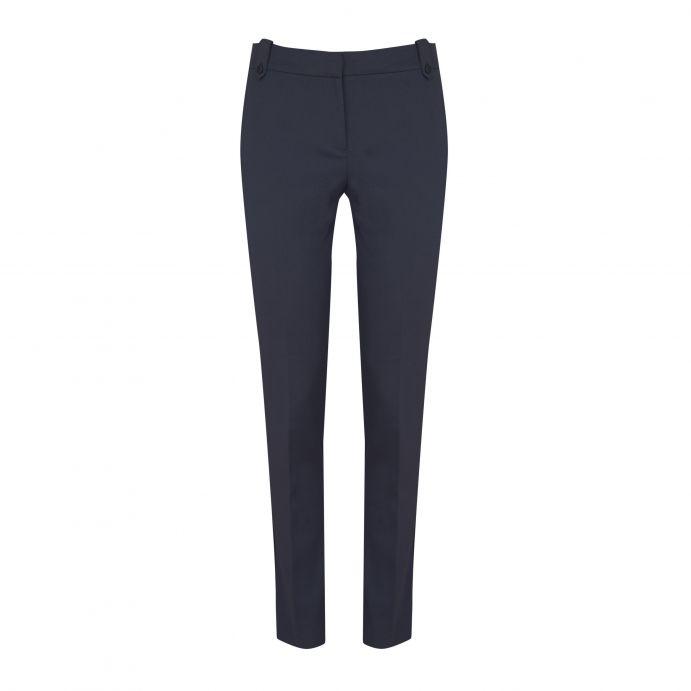 ab33f85972 pantalón slim regular azul marino con diseño muy elegante