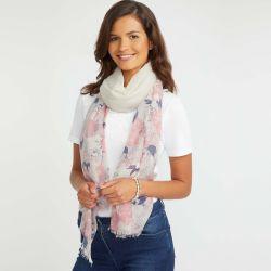 pañuelo de flores de diseño elegante