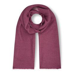 bufanda larga en tonos arándano de diseño