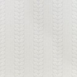 tejido de algodón estampado con hojas de diseño retro en gris