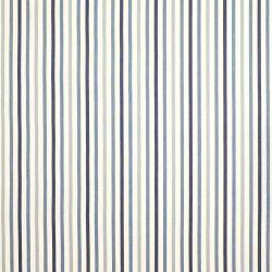 tela de rayas de diseño en tonos azules