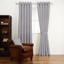 tela lisa gris para confecciones de diseño