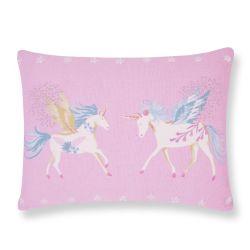 cojín Unicorns rosa