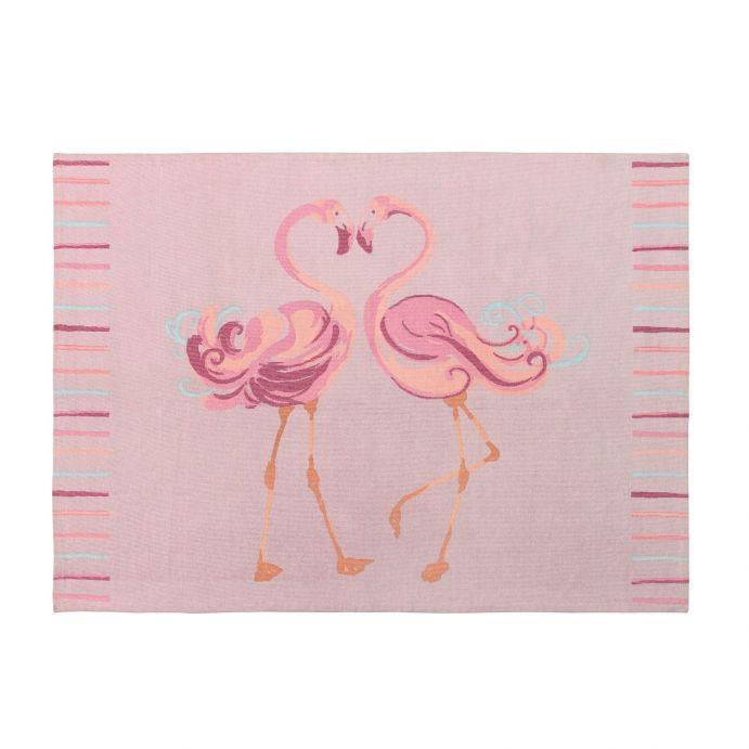 alfombra Flamingo rosa