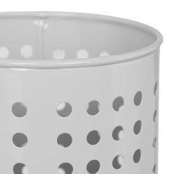 soporte de metal gris tipo escurridor  de diseño