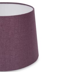 pantalla en gris plata mezcla de viscosa y lino de diseño