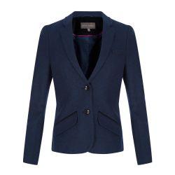 blazer azul de terciopelo de diseño