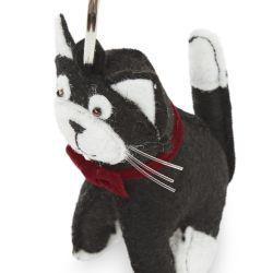 llavero con forma de gato de diseño