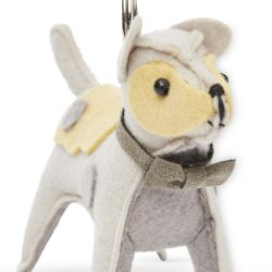 llavero con forma de perro de diseño