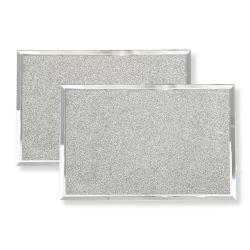 manteles con purpurina plata de diseño ideal para navidad
