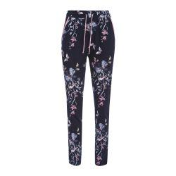 pantalón de chandal jogger con flores de diseño
