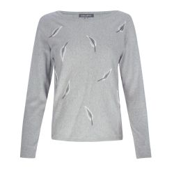 jersey gris Feather