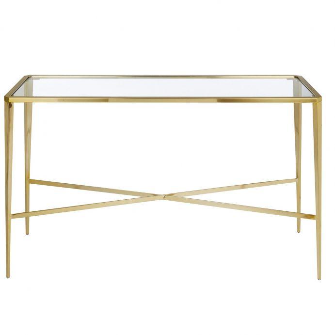 mesa de café Venezia oro