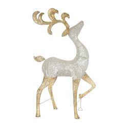 decoración de navidad para jardín, ciervo luminoso