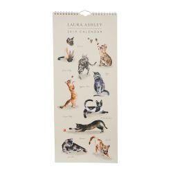 calendario 2019 diseño gatos
