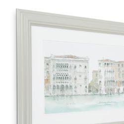 cuadro con diseño de palacios italianos