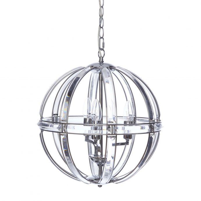 lámpara de techo de cristal de diseño exclusivo