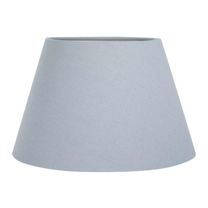 pantalla para lámpara lisa color gris pizarra
