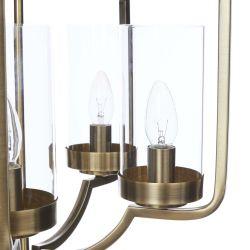 lámpara de techo de bronoce de diseño exclusivo