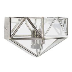 aplique de pared de cristal de diseño exclusivo