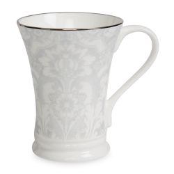 taza de desayuno elegante plata ideas de regalos de Navidad