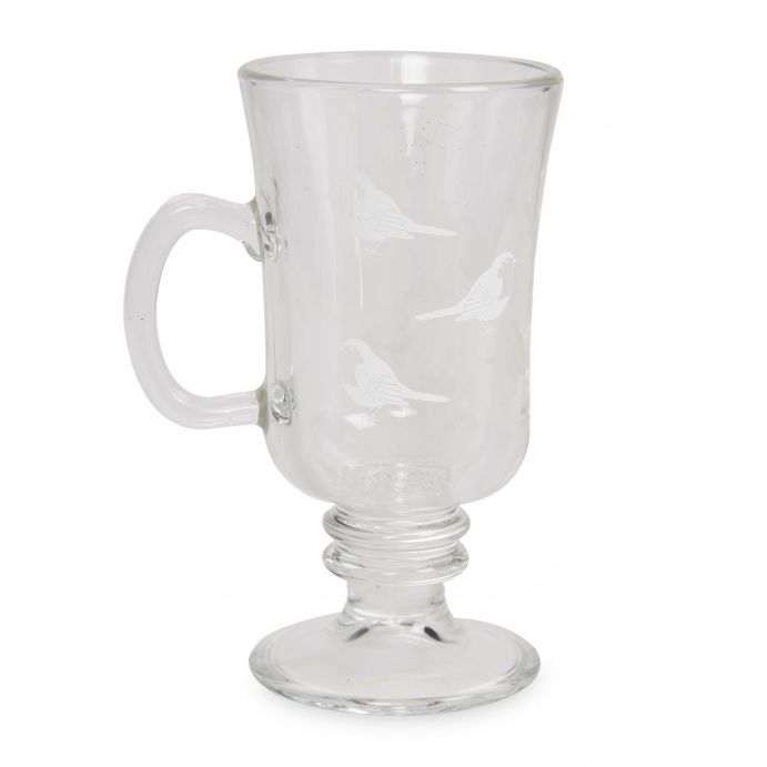 taza de cristal con asa, ideas de regalo para Navidad