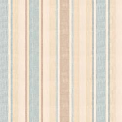 tela de rayas crema y azul para confección de cortinas de diseño