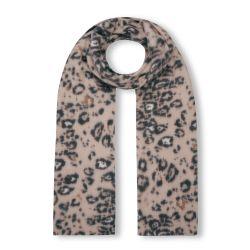 bufanda suave de estampado de leopardo de diseño