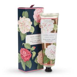 crema para cuidado de manos y uñas con fragancia floral de diseño