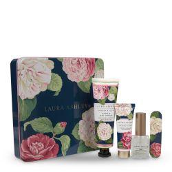 set de manicura en caja de regalo con diseño floral - ideas para regalar