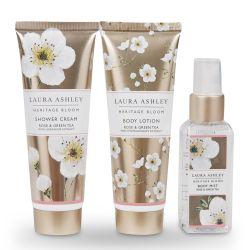 set de regalo para el cuidado corporal con fragancia floral - ideas para regalar