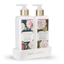 jabón y crema de manos de diseño, fragancia floral, edición lujo - ideas para regalar