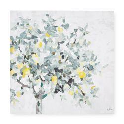 cuadro en lienzo con limonero decoración de diseño