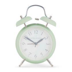 reloj despertado verde de estilo clásico, ideas para regalar