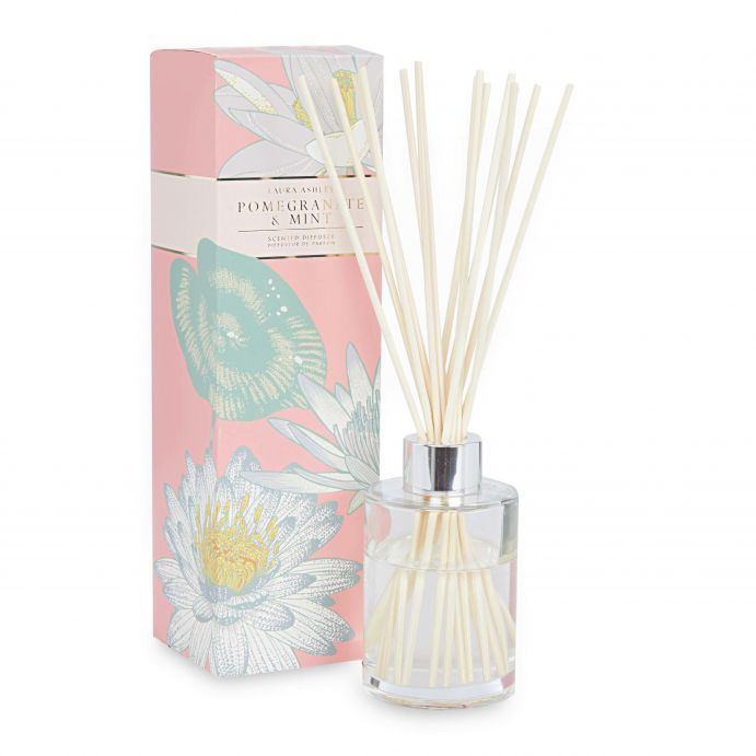 varitas perfumadas con aroma de granada y menta, tu casa huele genial
