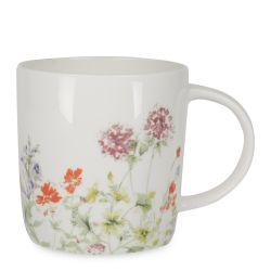 taza de desayuno original con flores, ideas de regalo