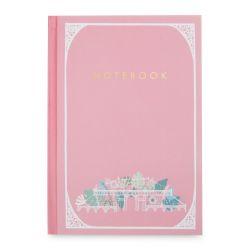 cuaderno rosa de diseño