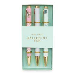 3 bolígrafos de diseño en colores pastel ideal para regalo
