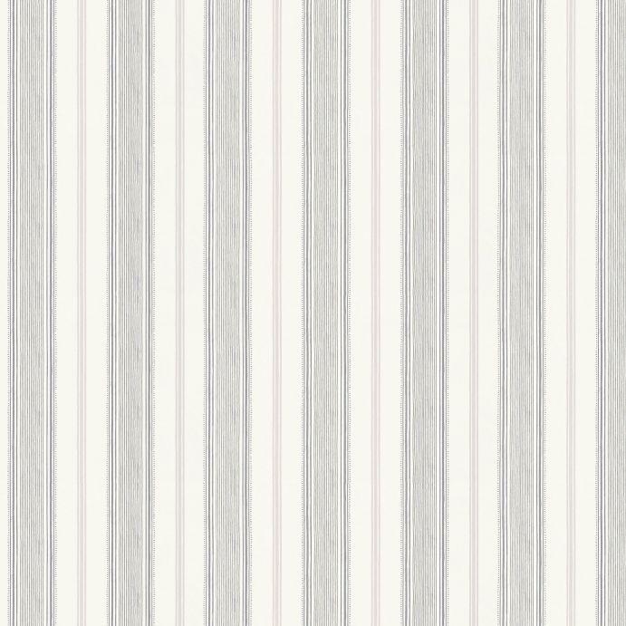 papel pintado estampado con rayas de diseño clásico en color gris