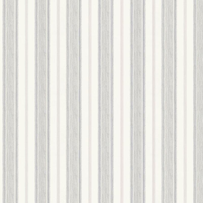 Papel Pintado Heacham Stripe Plata Ptw