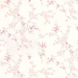papel pintado Oriental Blossom hueso y rosa maquillaje PTW